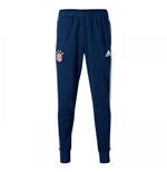 2017-2018 Bayern Munich Adidas Sweat Pants (Navy)
