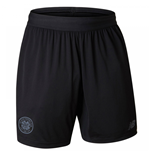 2017-2018 Celtic Woven Training Shorts (Black)