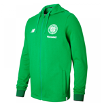 2017-2018 Celtic Travel Training Hoody (Green)