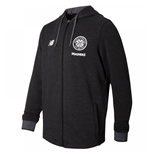 2017-2018 Celtic Travel Training Hoody (Black)