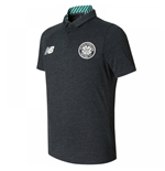 2017-2018 Celtic Training Polo Shirt (Black) - Kids