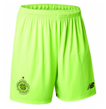 2017-2018 Celtic Home Goalkeeper Shorts (Green)