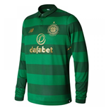2017-2018 Celtic Away Long Sleeve Shirt