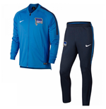 2017-2018 Hertha Berlin Nike Dry Knit Tracksuit (Blue)