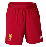 2017-2018 Liverpool Home Shorts (Red)