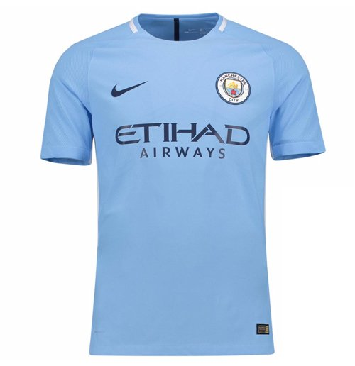 2017 2018 Man City Home Nike Football Shirt For Only C
