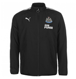 2017-2018 Newcastle Puma Leisure Jacket (Black) - Kids