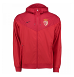 2017-2018 Monaco Nike Authentic Windrunner Jacket (Red)