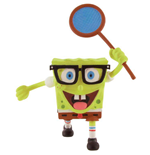 SpongeBob Square Pants Mini Figure SpongeBob butterfly net 7 cm