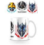Transformers The Last Knight Mug Helmets