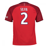 2016-17 PSG Away Shirt (Silva 2)