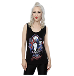 DC Comics Ladies Tee Vest: Suicide Squad Harley Quin Daddy's Lil Monster