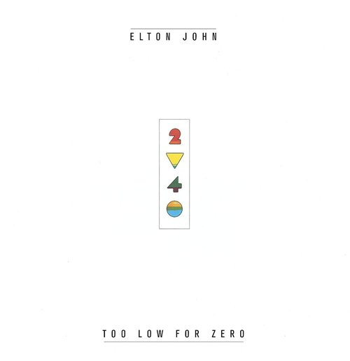 Vynil Elton John - Too Low For Zero
