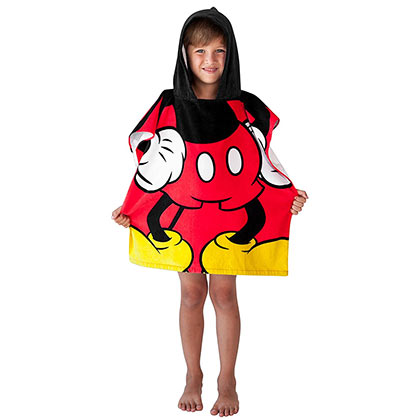 Mickey Mouse Youth Hooded Towel