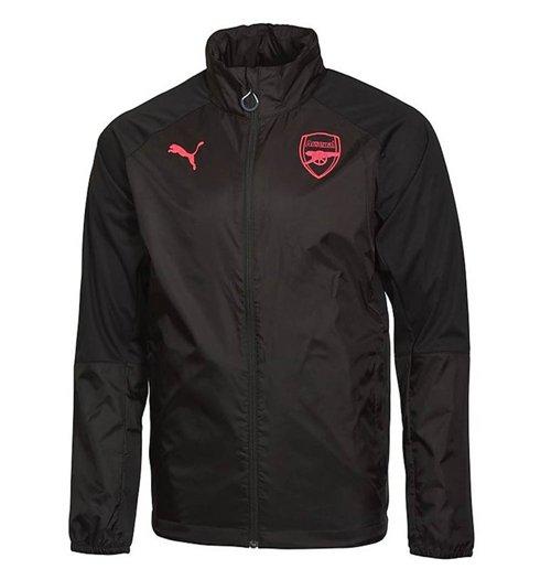 73fe85209 Buy Official 2017-2018 Arsenal Puma Rain Jacket (Black) - Kids