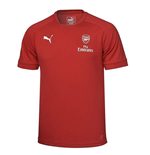 2017-2018 Arsenal Puma Casual Performance Tee (Chilli Pepper)