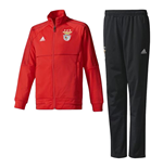 2017-2018 Benfica Adidas PES Tracksuit (Red) - Kids