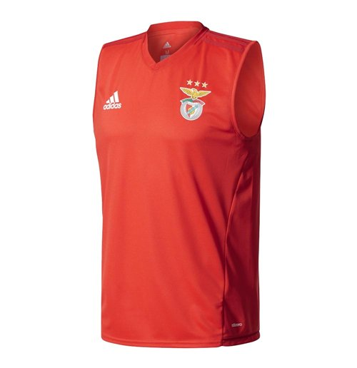 huge discount cd473 05816 2017-2018 Benfica Adidas Sleeveless Training Jersey (Red)