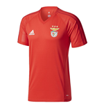 2017-2018 Benfica Adidas Training Shirt (Red)