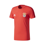 2017-2018 Benfica Adidas Training Tee (Red)