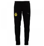 2017-2018 Borussia Dortmund Puma Casuals Sweat Pants (Black)