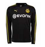2017-2018 Borussia Dortmund Away Long Sleeve Puma Shirt