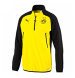 2017-2018 Borussia Dortmund Puma Training Fleece (Yellow)