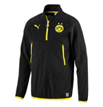 2017-2018 Borussia Dortmund Puma Training Fleece (Black) - Kids