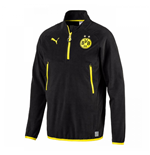 2017-2018 Borussia Dortmund Puma Training Fleece (Black)