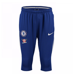 2017-2018 Chelsea Nike Three Quarter Length Pants (Blue)