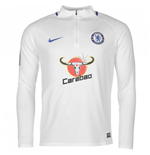 2017-2018 Chelsea Nike Drill Training Top (White)