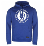 2017-2018 Chelsea Nike Core Hooded Top (Blue)