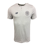 2017-2018 Celtic Media Training Cotton Tee (Grey Marl)