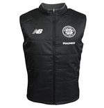 2017-2018 Celtic Elite Training Reversible Gilet (Black)