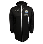 2017-2018 Newcastle Puma Bench Jacket (Black)