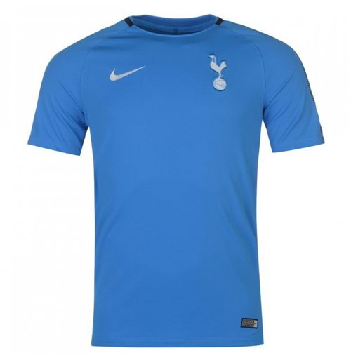 Buy Official 2017 2018 Tottenham Nike Training Shirt Blue
