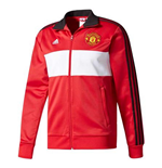 2017-2018 Man Utd Adidas 3S Track Top (Red)