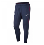 2017-2018 Man City Nike Squad Training Pants (Navy)