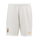 2017-2018 Monaco Nike Home Shorts (White)
