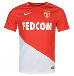 2017-2018 Monaco Authentic Vapor Home Nike Match Shirt
