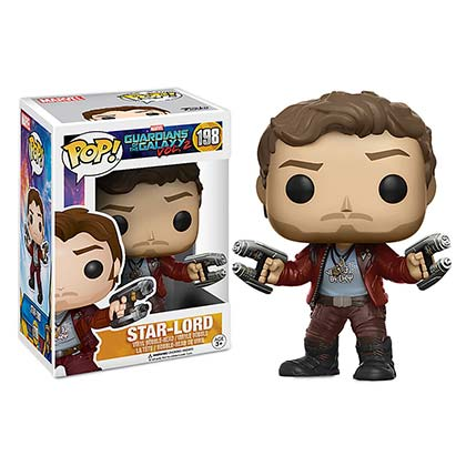 Funko Pop GUARDIANS OF THE GALAXY Star Lord Bobble Head