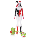 DC Comics Designer Action Figure Holiday Harley Quinn by Amanda Conner 17 cm