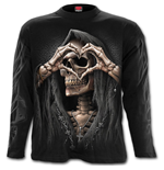 Dark Love - Longsleeve T-Shirt Black