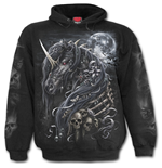 Dark Unicorn - Hoody Black