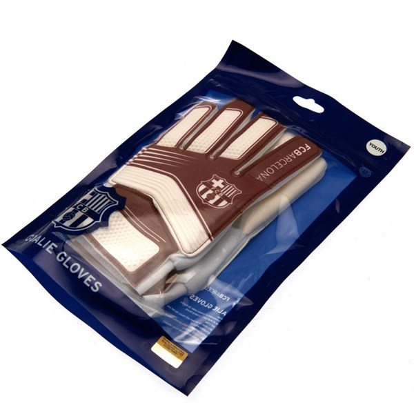 F.C. Barcelona Goalkeeper Gloves Yths