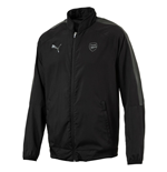 2017-2018 Arsenal Puma Casual Performance Woven Jacket (Black)