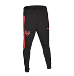 2017-2018 Arsenal Puma Fitted Training Pants with Pockets (Black)