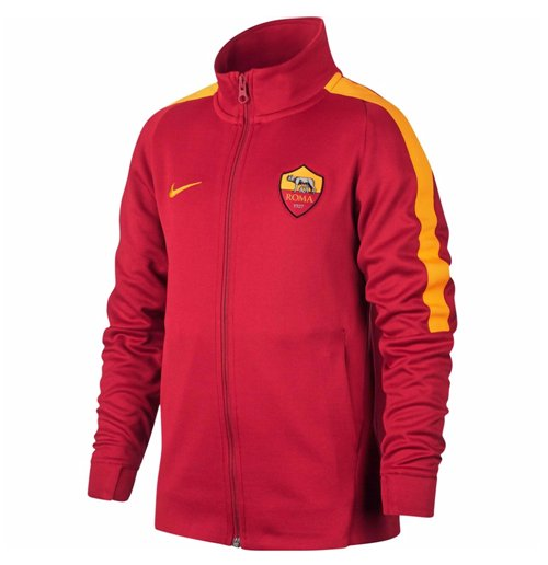 2017 2018 as roma nike authentic franchise jacket team. Black Bedroom Furniture Sets. Home Design Ideas