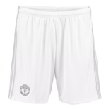 2017-2018 Man Utd Adidas Third Shorts (White)