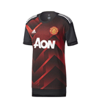 2017-2018 Man Utd Adidas Pre-Match Training Shirt (Red) - Kids